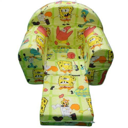 Foteljica za decu sa motivom Sundjer boba