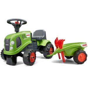 Zeleni traktor guralica Falk 212