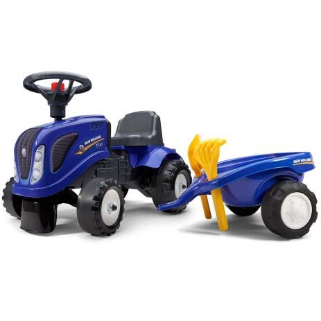 Plavi traktor guralica Falk 280