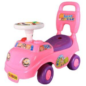 Roze guralica za devojcice Lucky