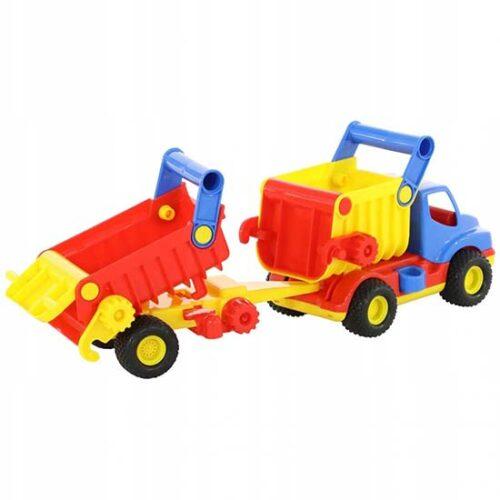 Kamion i prikolica sarena igracka Wader