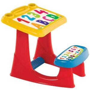 sareni plasticni pisaci sto za decu