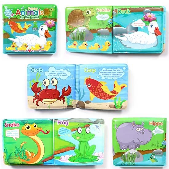 Knjige za kupanje bebe sa slikom zivotinja