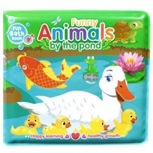 Knjiga za kupanje bebe sa patkom