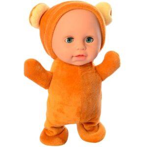 Lutka beba braon boje koja prica i hoda