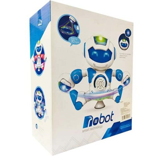 Kutija sa robotom koji plese
