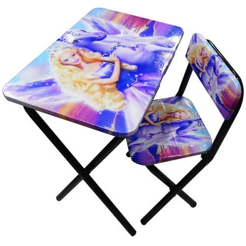 Sto i stolica sa jednorogom