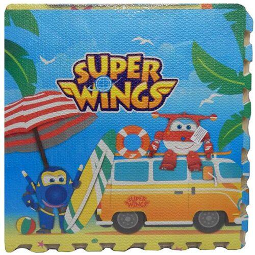 podna sundjerasta slagalica za bebe super wings