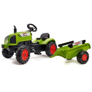 Falk zeleni traktor sa prikolicom