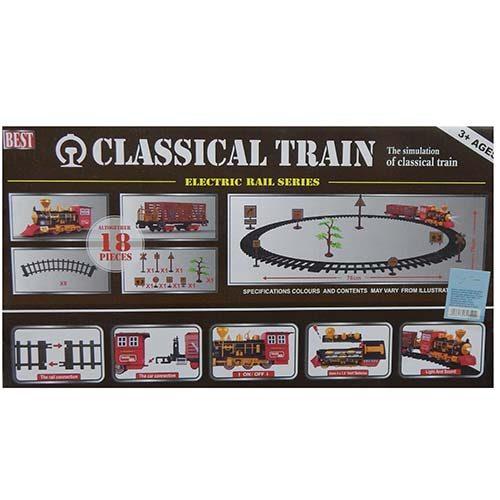 Classic train voz sa prugom