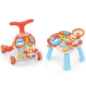 crveni sto i hodalica za bebe huanger