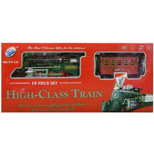 deciji voz u kutiji High class