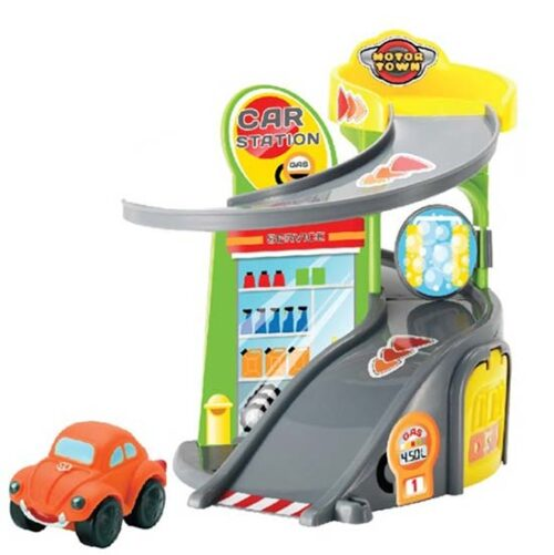 autic i garaza za decu Motor town