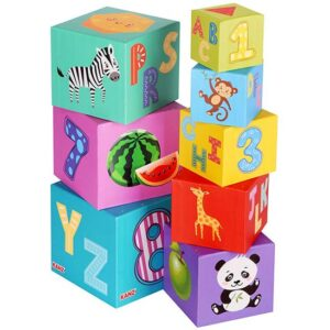 sarene kocke za bebe Kanz