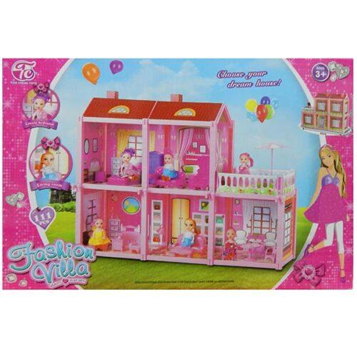kucica za lutke roze boje Lady villa