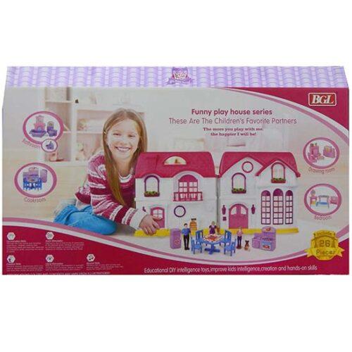 plasticna kucica za lutke i devojcica