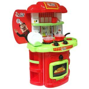 Kuhinja za decu crveno zelena MGS