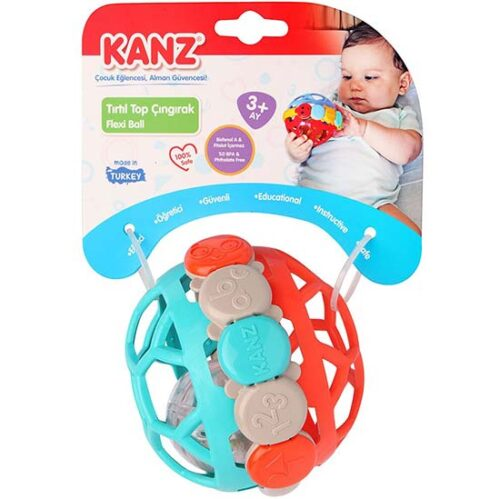 Zvecka lopta za bebe Kanz