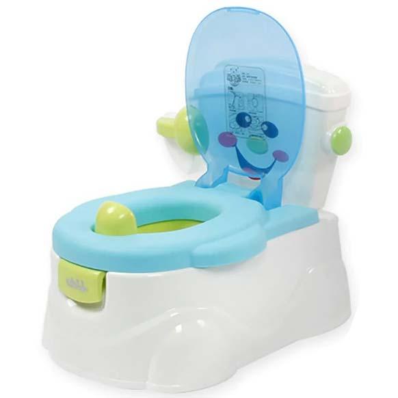 plavo bela nosa wc solja smile