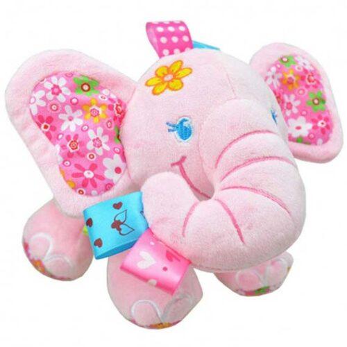 roze slonce plisana igracka sa muzikom
