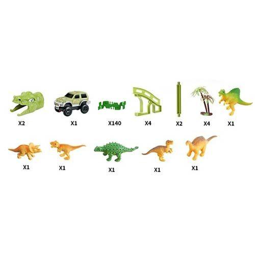 staza sa motivom dinosaurusa 140 delova