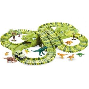 zelena staza sa glavama dinosaurusa 200 delova