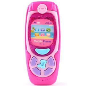 roze igracka telefon za bebe Kaichi