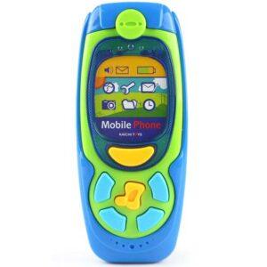 plava igracka telefon za bebe Kaichi