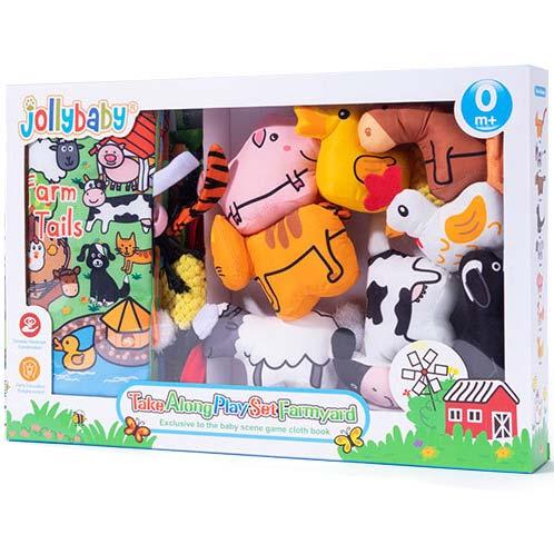 edukativne plisane igracke farma za bebe jolly