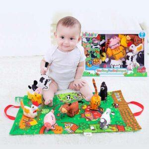 trodimenzionalni set zivotinje jolly i bebe