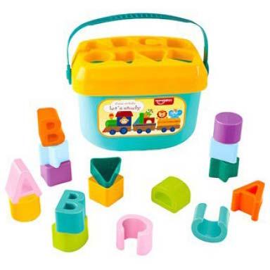 plasticna edukativna kofica za bebe huanger