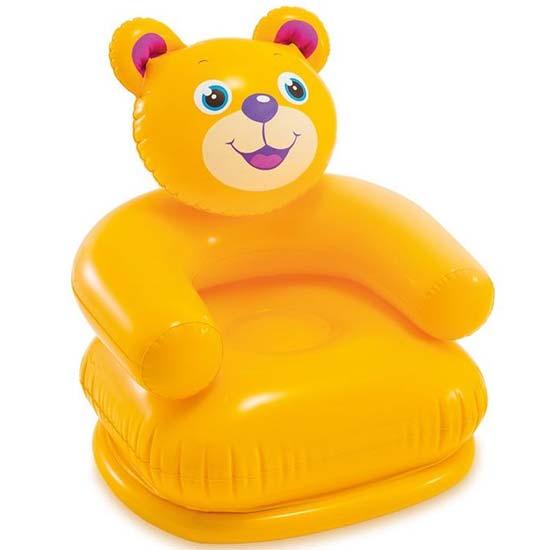 zuta fotelja u obliku medveda