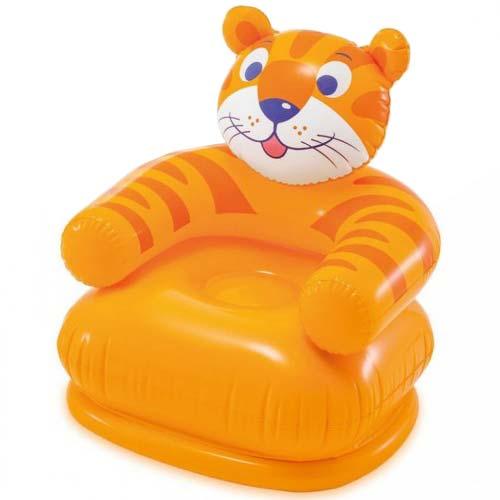narandzasta fotelja na naduvavanje tigar