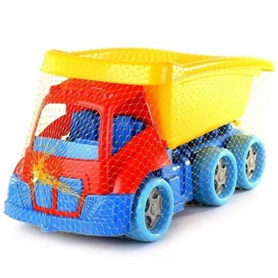 plasticni kamion za decu u mrezici dede jumbo