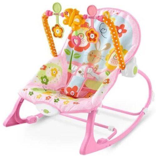 roze lezaljka za bebe do 18 kg ibaby