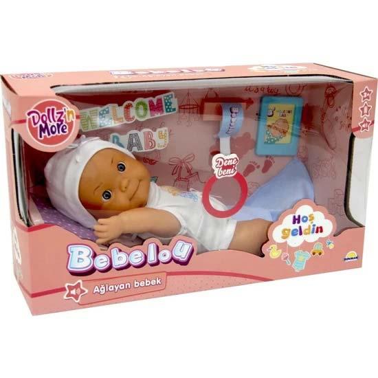 lutka za decu u kutiji bebelou place