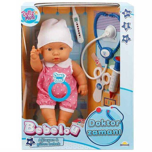 lutka beba i doktor set bebelou