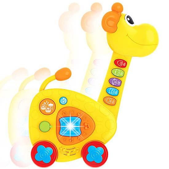 gitara zirafa za bebe qby