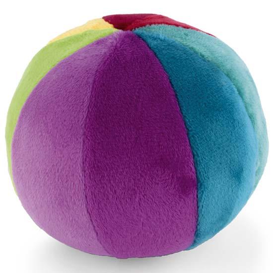 zvecka plisana sarena lopta canpol