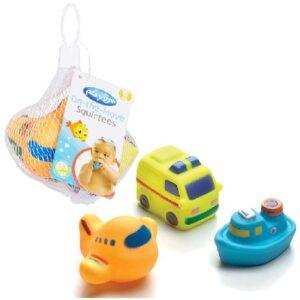 gumeni kamion avion i brod za bebe playgro