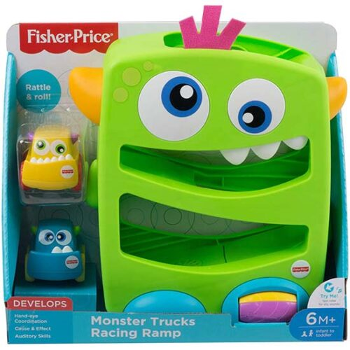 Fisher price monster staza sa 2 autica