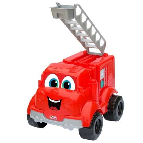 crveni kamion sa ocima dede
