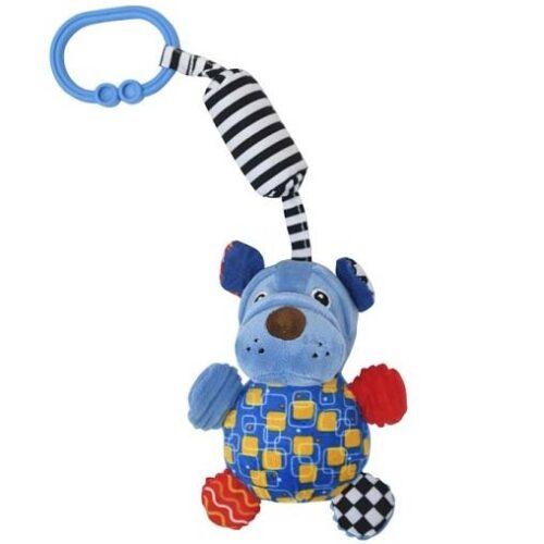plava zvecka visuljak za bebe pas