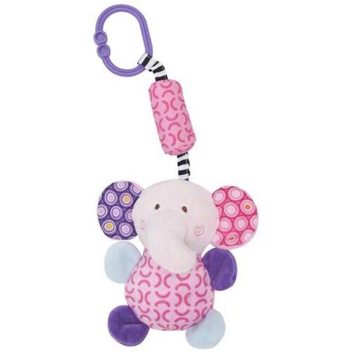 sarena roze zvecka visuljak za bebe slonce