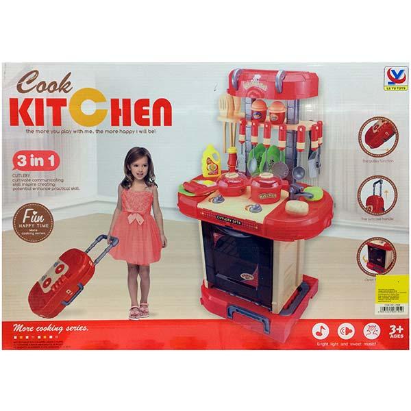 devojcica i kuhinja za decu happy time