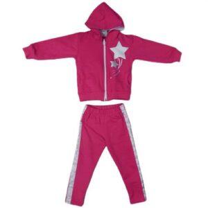 roze trenerka za devojcice od 18 meseci