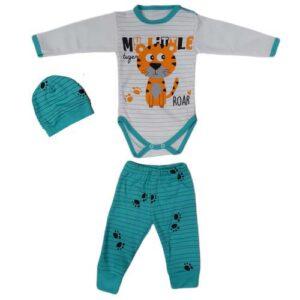 trodelni komplet za bebe tigar