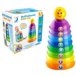 edukativne sarene plasticne kupe za bebe smile