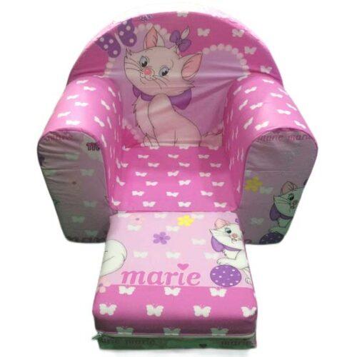 sundjerasta roze foteljica macka marie