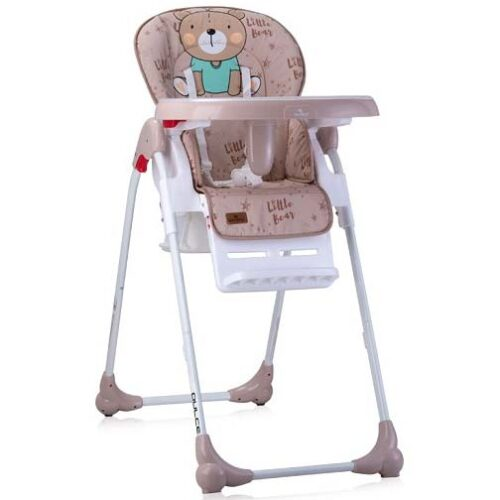 belo braon stolica za hranjenje bebe meda